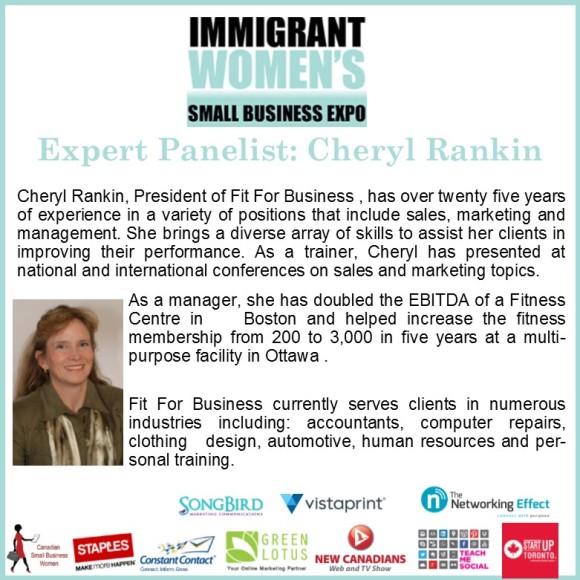 Panelist Cheryl